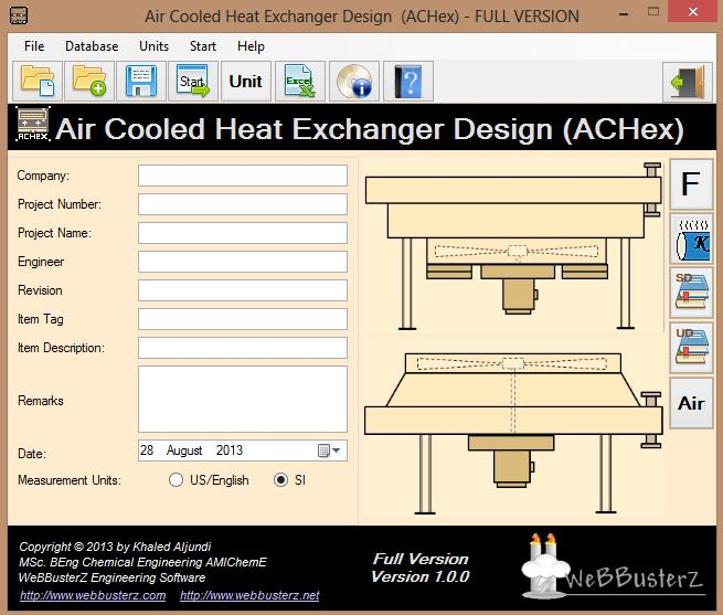 Air Cooled Heat Exchanger Design 1 0 0 On Filecart