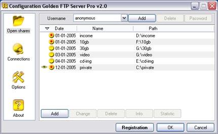 Golden FTP Server Pro 5 00 on FileCart