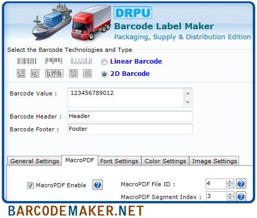 barcode generator software free download freeware
