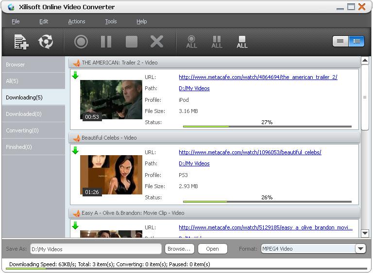 Xilisoft Online Video Converter 2 0 20 0902 On Filecart